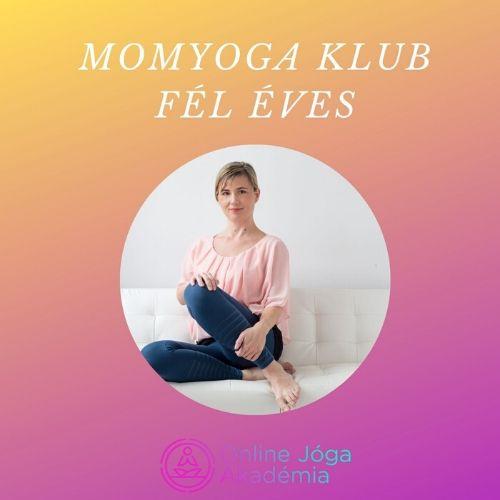 MomYoga Klub fél éves online jóga
