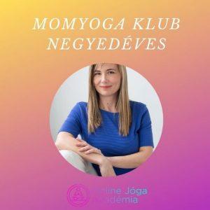 MomYoga Klub negyedéves online jóga