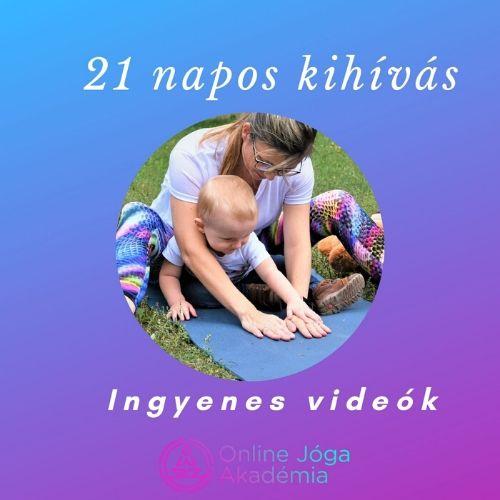 21napos kihivás online jóga