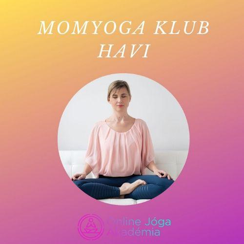 MomYoga_Klub_havi tagság online joga
