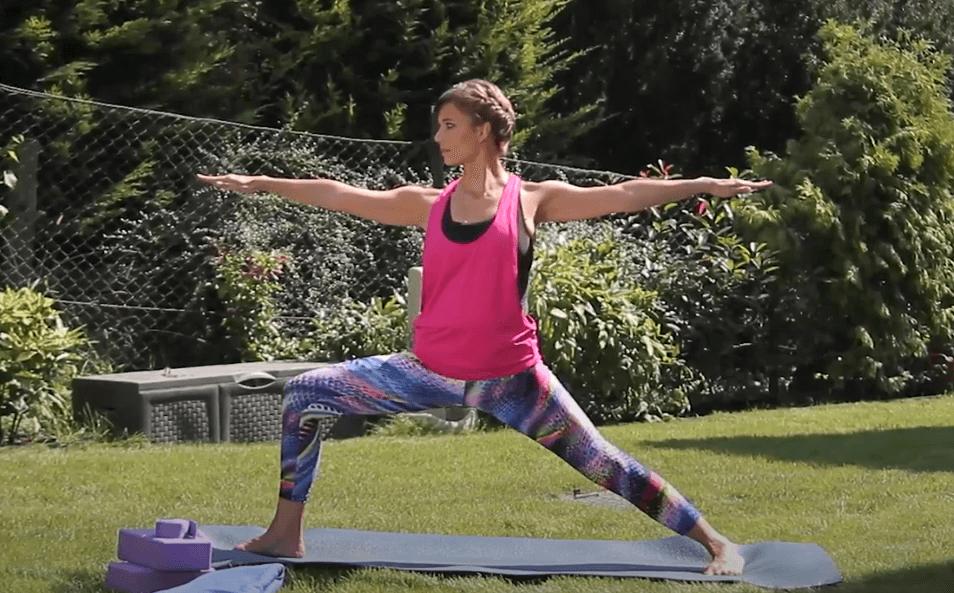 Online jóga könyvtár – Hőspóz – 2. variáció