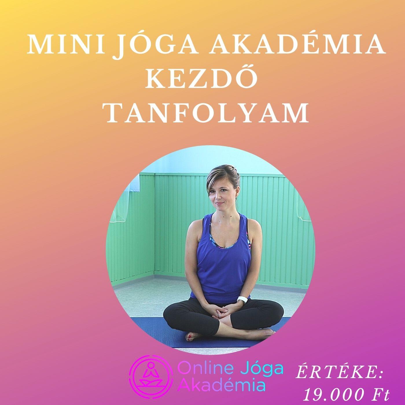 Mini Jóga Akadémia online jóga