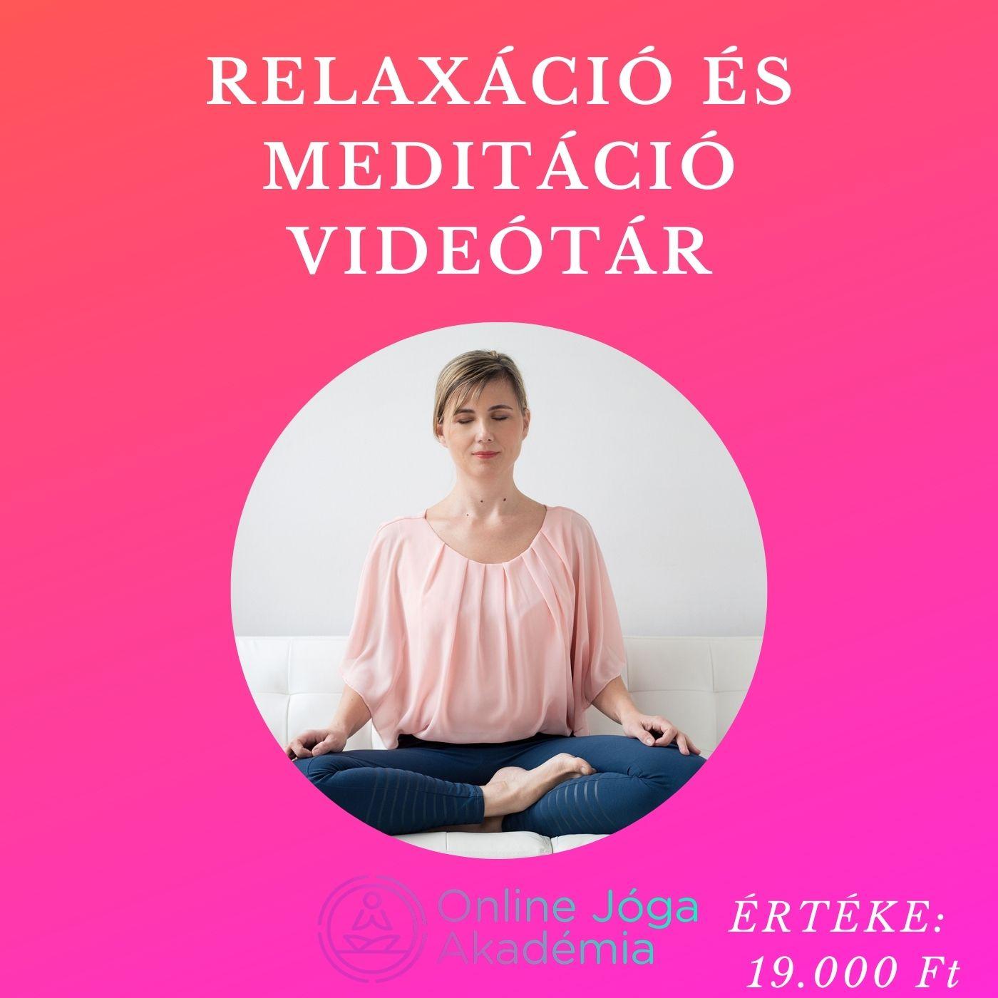 videótár relaxtár online jóga